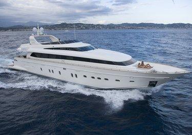 Bertona III charter yacht