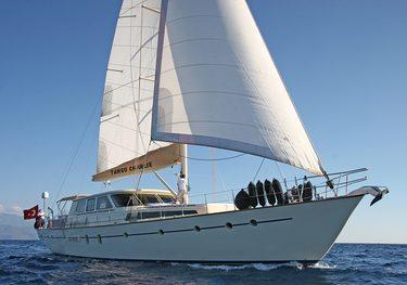 Ancha charter yacht
