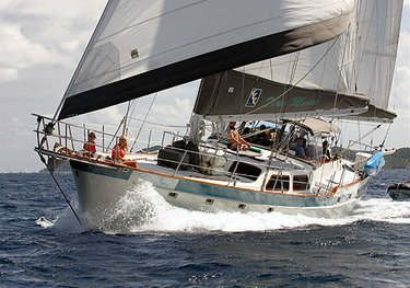 Three Moons charter yacht