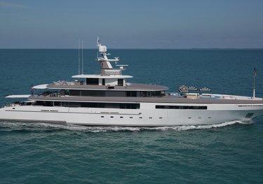 Eternity charter yacht