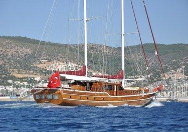 Palmyra charter yacht