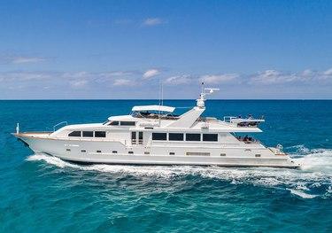 Alexandra Jane charter yacht