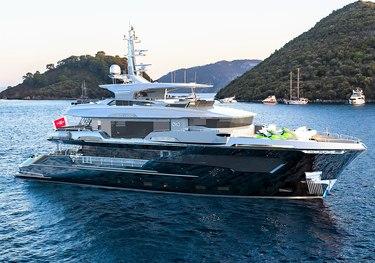 Infinity Nine charter yacht