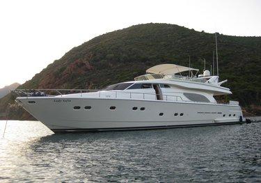 Lady Sofia charter yacht