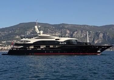Bash charter yacht