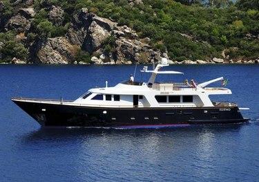 Blue Lady charter yacht
