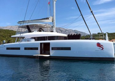 Adriatic Dragon charter yacht