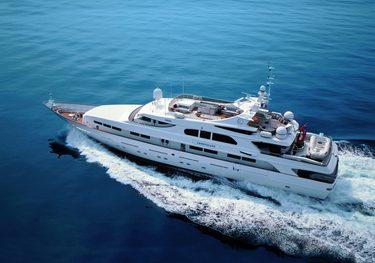 Legacy V charter yacht