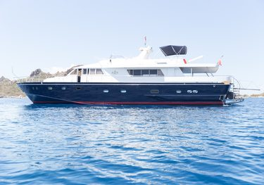 Enigma Blue charter yacht