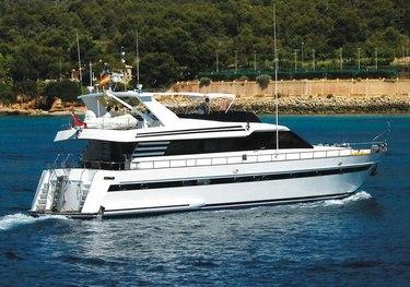 Lady Tatiana charter yacht