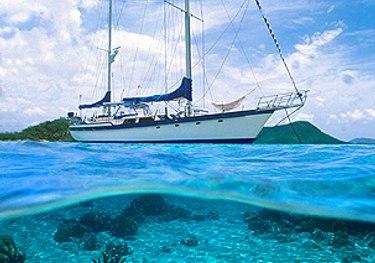 Sandcastle charter yacht