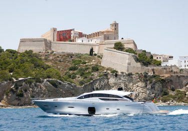 Halley charter yacht