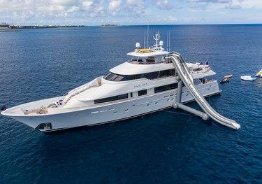 All Inn charter yacht