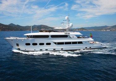 Baron Trenck charter yacht