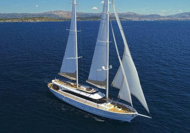 Acapella charter yacht