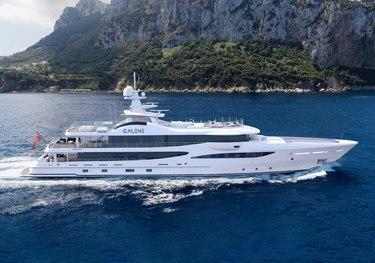 Galene charter yacht