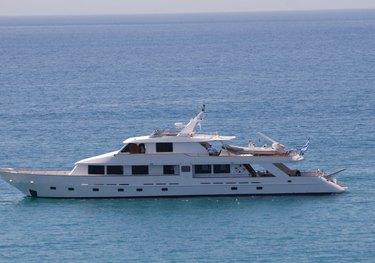Crystall charter yacht