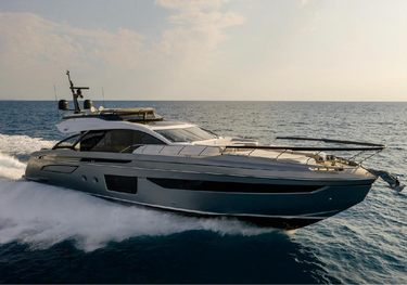 Never Give Up charter yacht
