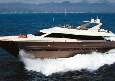 Alrisha charter yacht