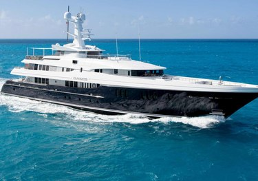Elysian charter yacht