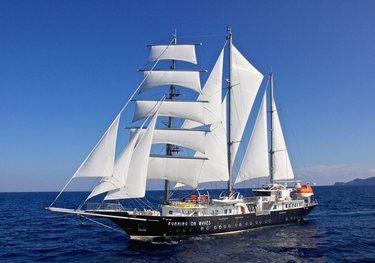 Perseus^3 charter yacht