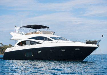Lazy P charter yacht