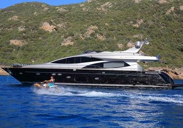 Black Pearl Ajaccio charter yacht