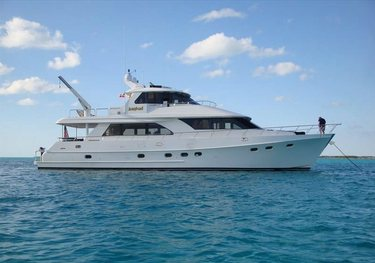 JusMad charter yacht