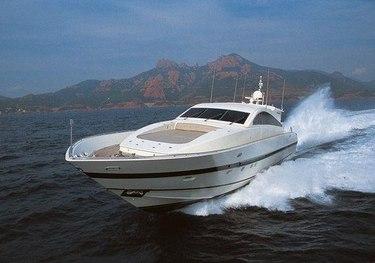 Sarah A charter yacht