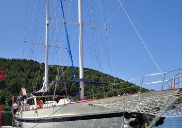 Symphonia charter yacht