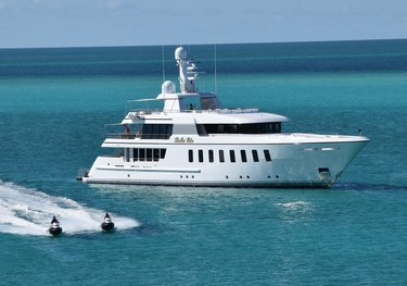 Bella charter yacht