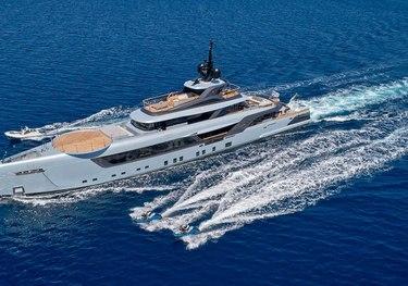 Geco charter yacht