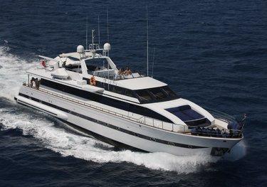 Tortuga charter yacht