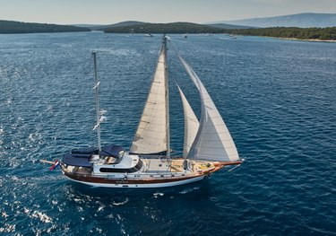Lotus charter yacht