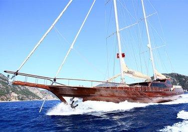 Mezcal 2 charter yacht