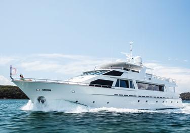 Moonraker charter yacht