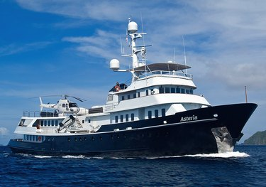 Asteria charter yacht