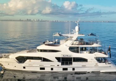 Cool Breeze charter yacht