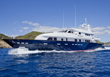 Safe Haven charter yacht