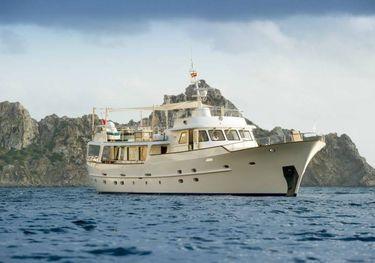 Monara charter yacht