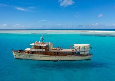 Over The Rainbow charter yacht