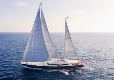 Xasteria charter yacht