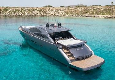 Charm charter yacht