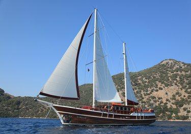 Serenity 86 charter yacht