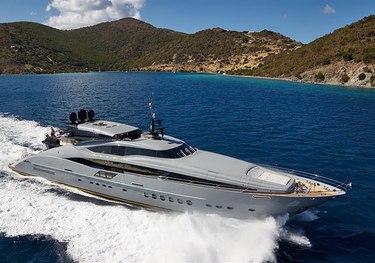 DB9 charter yacht