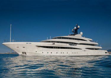 Lady Jorgia charter yacht