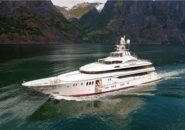 Lady Kathryn V charter yacht