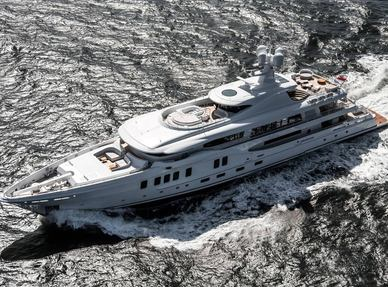 68m superyacht 'Aurora Borealis' delivered
