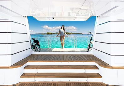 10 Top Charter Yachts With Beach Clubs