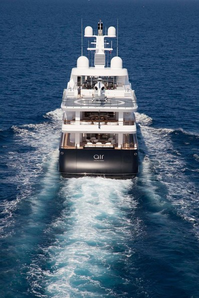 Air Yacht Aft View